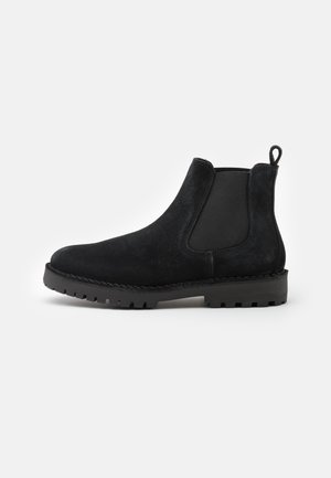 SLHRICKY CHELSEA BOOT - Classic ankle boots - black