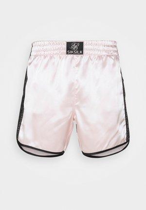 MUAY TIE - Shorts - pink/black
