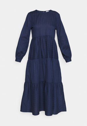 REBEKA TIERED DRESS - Jurk - medieval blue
