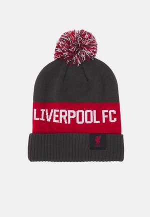 Bonnet - anthracite/gym red