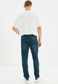 Trendyol - Jean slim - navy blue - 2