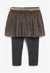Next - A-line skirt - gold-coloured - 0