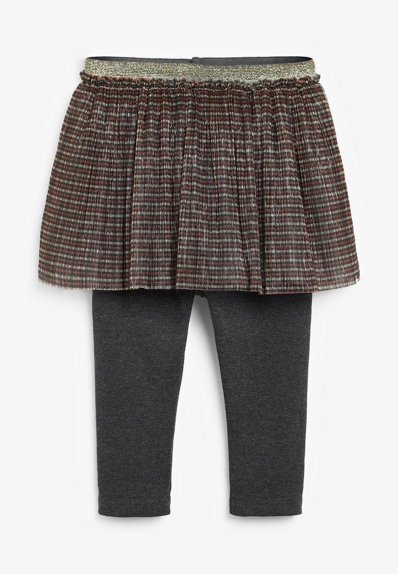 Next - A-line skirt - gold-coloured