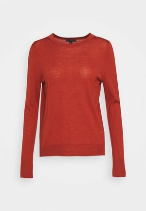MARGOT CREWNECK - Strickpullover - rock red