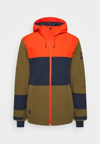 Quiksilver - SYCAMORE - Snowboard jacket - military olive - 4