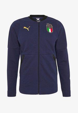 ITALIEN FIGC CASUALS JACKET - Koszulka reprezentacji - peacoat/gold