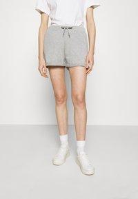 LTB - KIHEFO - Shorts - grey mel - 0