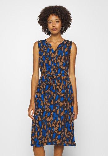 QASILLO BLOOM - Day dress - universe blue