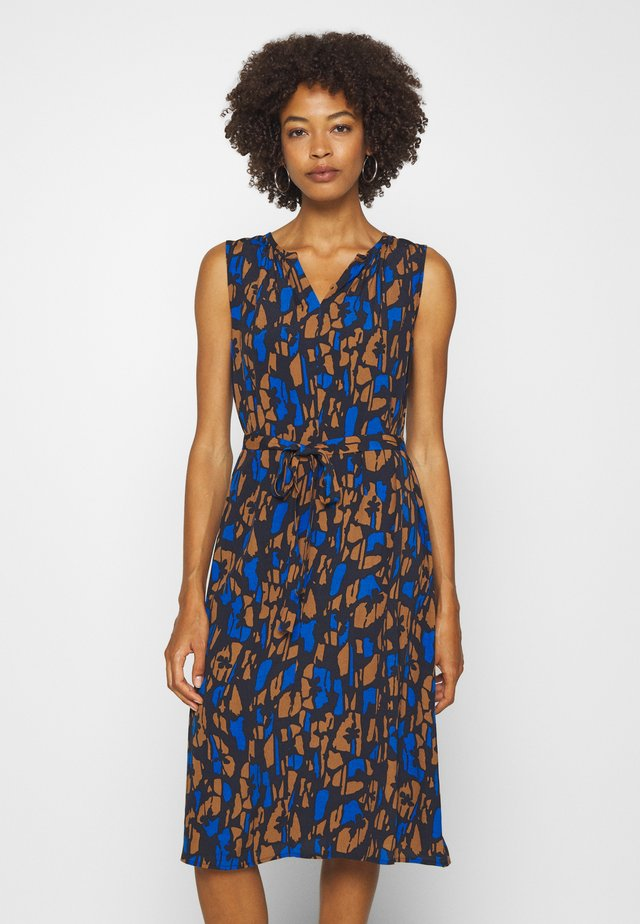 QASILLO BLOOM - Day dress - universe blue