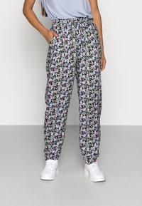 ONLY Petite - ONLRIA PANTS PETITE - Pantalones - black - 0
