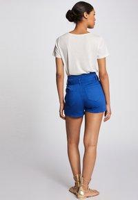 Morgan - Shorts - bleached denim - 2