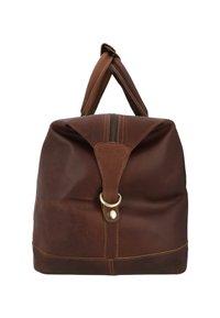 Gusti Leder - RUBEN - Weekend bag - camel - 4