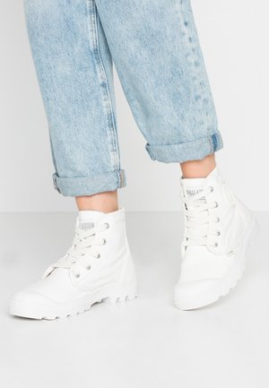 PAMPA  - Lace-up ankle boots - star white