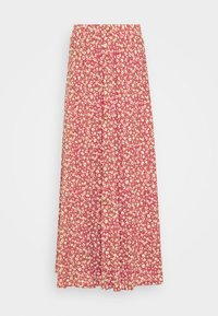 ONLY Tall - ONLPELLA SKIRT - Maxi sukně - mineral red - 3