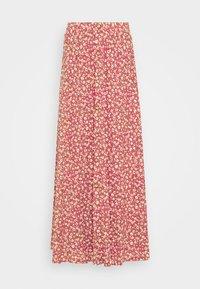 ONLPELLA SKIRT - Maxi sukně - mineral red