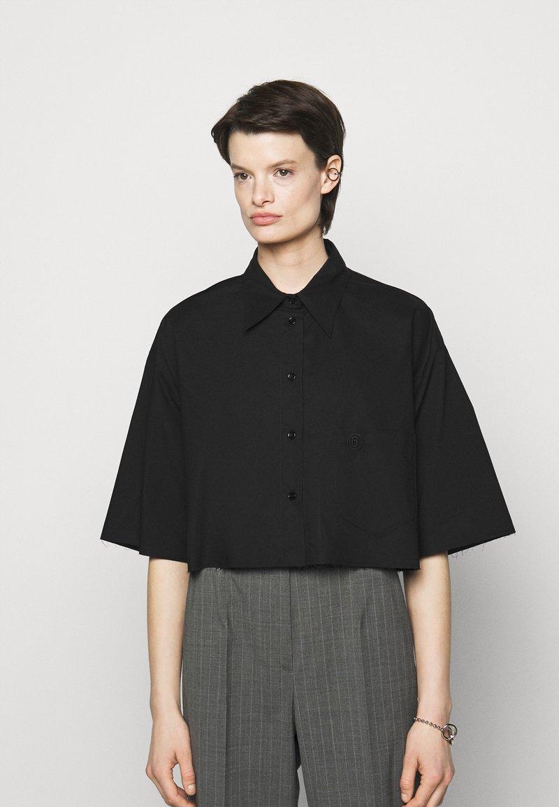 MM6 Maison Margiela - Button-down blouse - black