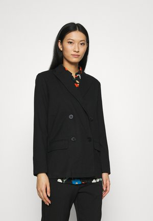 OVERSIZE BLAZER - Manteau court - black