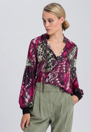 Overhemd - magenta varied