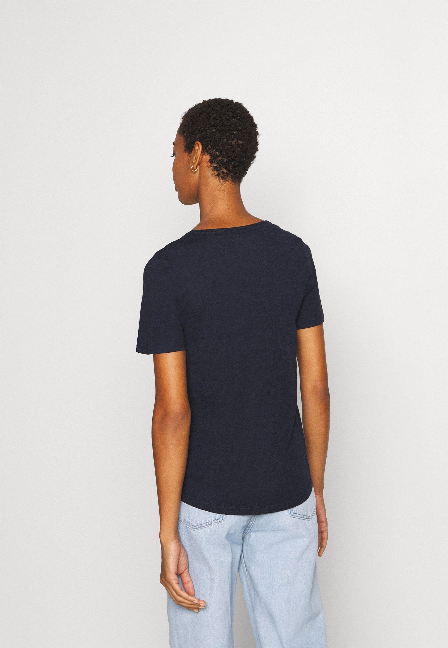 Marc O'polo Short Sleeve - T-shirts Night Sky/mørkeblå