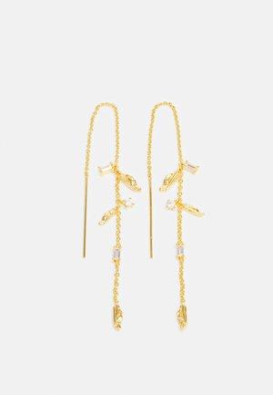 VULCANELLO CHAIN EARRINGS - Kolczyki - gelbgold-coloured