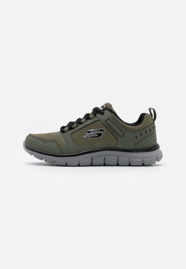TRACK - Sneakersy niskie - olive/black