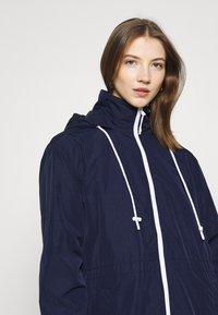 Lacoste - Classic coat - navy blue/white - 4