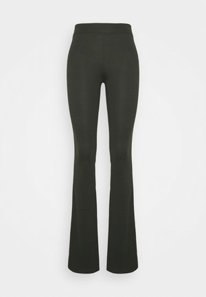 ONLFEVER FLAIRED PANTS - Bukse - rosin