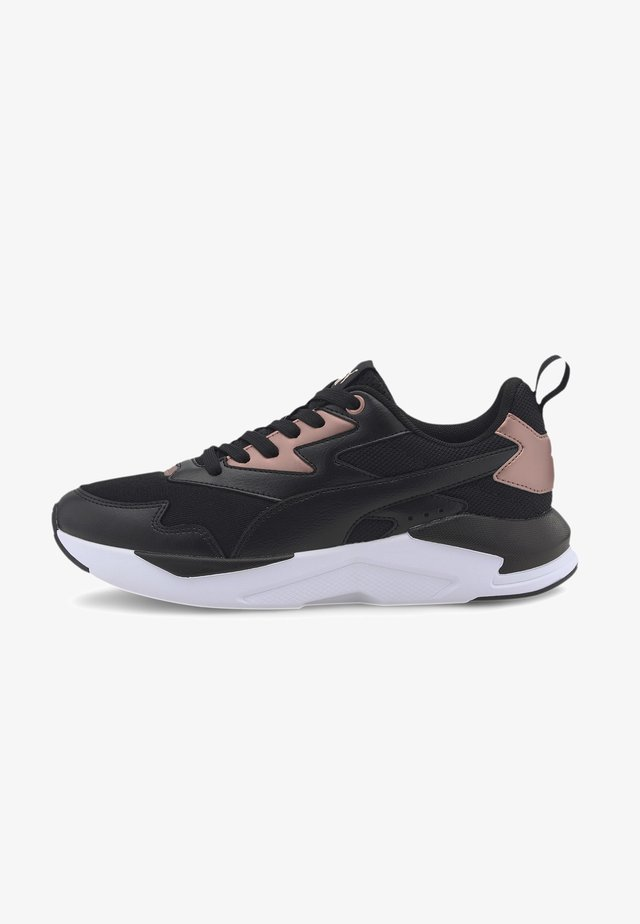 Sneaker low - black-black-rose gold