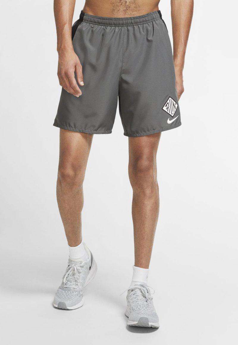 Nike Performance - Sports shorts - iron grey/black