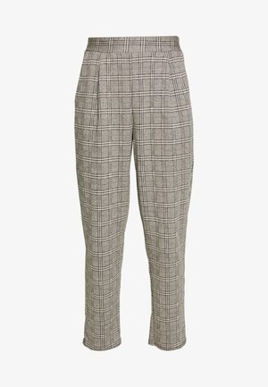 KATE CHECK PULL ON TROUSER - Kalhoty - grey