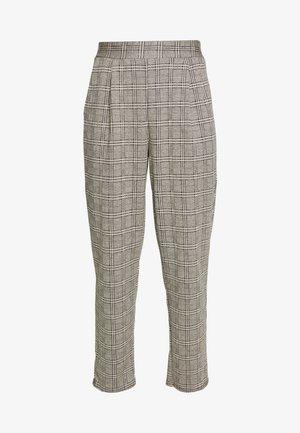 KATE CHECK PULL ON TROUSER - Pantaloni - grey