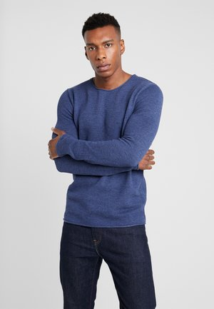 SLHROCKY CREW NECK - Jumper - brilliant blue/melange