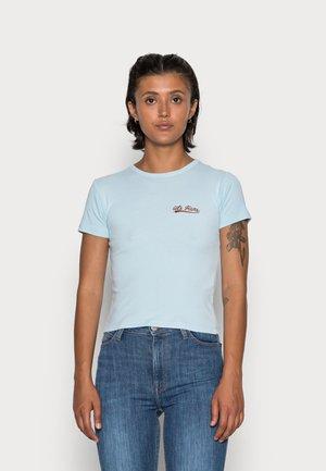 BABY SCRIPT TEE - T-shirt basic - blue