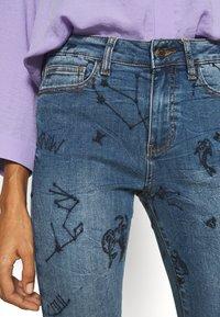 Desigual - AUSTRA - Jeans Skinny Fit - blue - 4