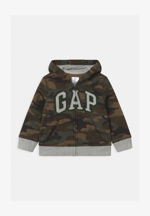 GARCH  - Zip-up hoodie - evergreen