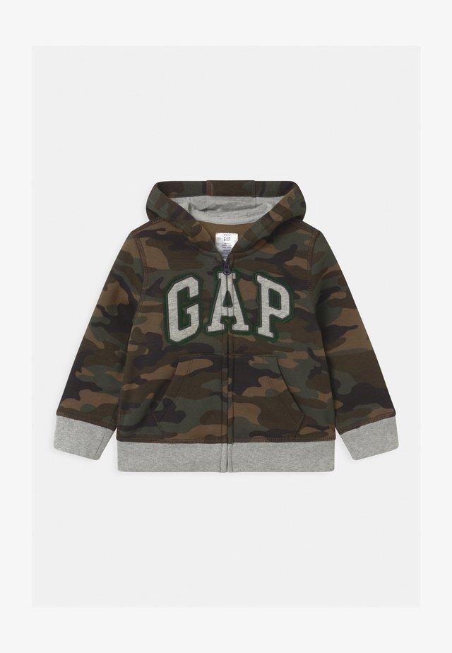 GARCH  - veste en sweat zippée - evergreen