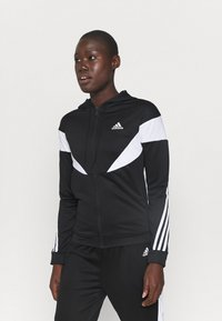 adidas Performance - COLORBLOCK - Tracksuit - black/white - 0