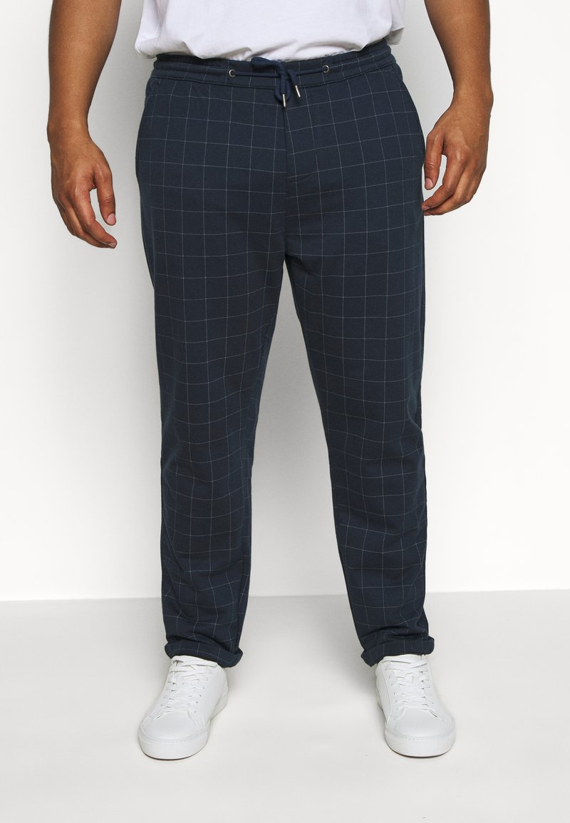 Jack´s Sportswear - CLUB PANTS ELASTIC WAIST - Tracksuit bottoms - blue