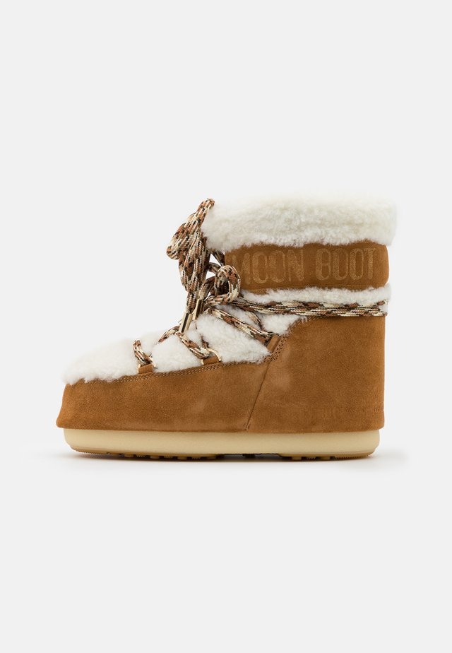 MARS - Winter boots - whisky/offwhite