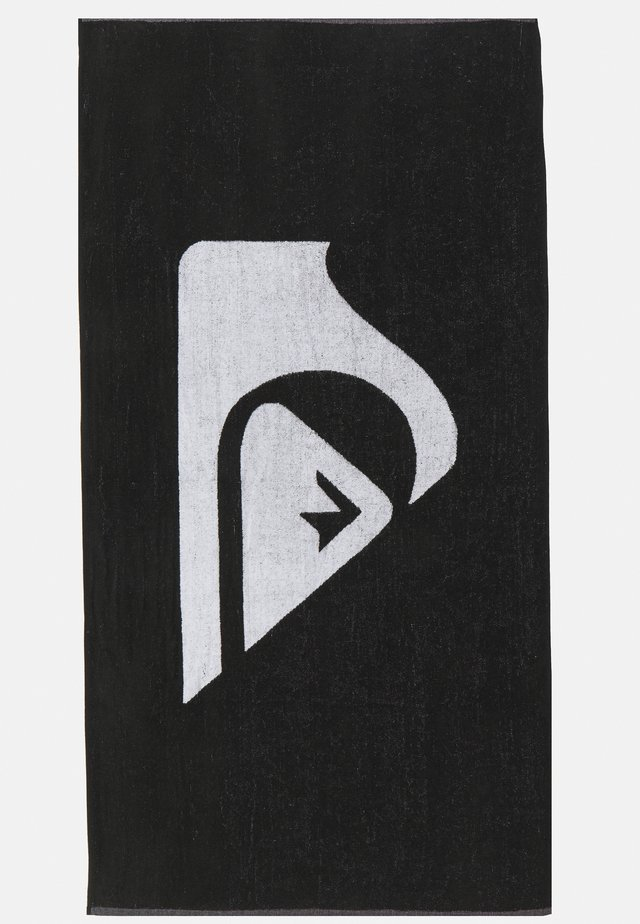 LOGO - Bath towel - black