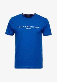 Tommy Hilfiger - LOGO TEE - T-shirt z nadrukiem - blue - 3
