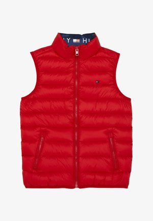 LIGHT - Waistcoat - red