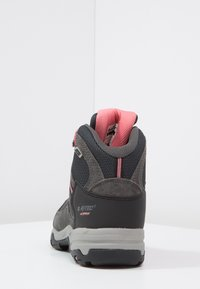 Hi-Tec - BANDERA II WP  - Hiking shoes - charcoal/graphite/blossom - 4