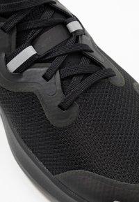 Nike Performance - REACT MILER - Neutral running shoes - black - 5