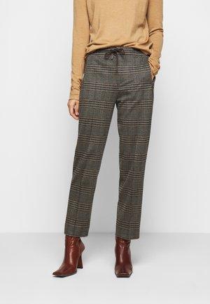 ACCESS - Spodnie materiałowe - braun