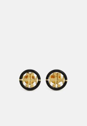 MILLER STUD EARRING - Orecchini - gold-coloured /black