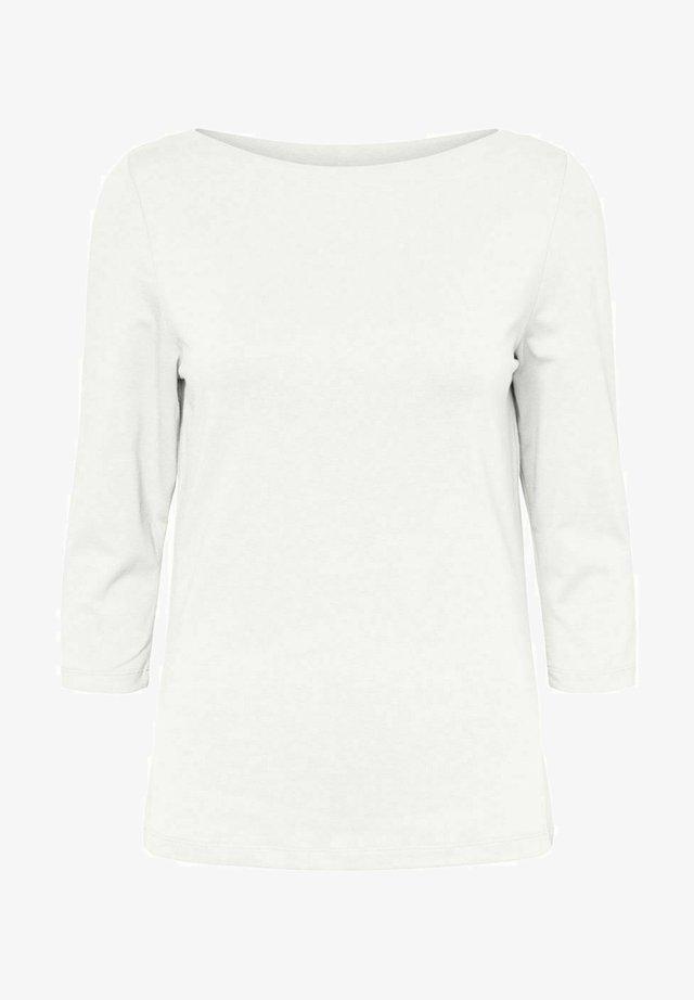 Langarmshirt - bright white