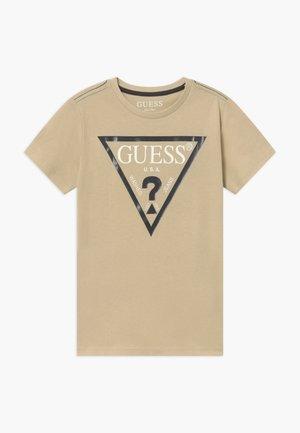 CORE JUNIOR  - T-shirt med print - ecru