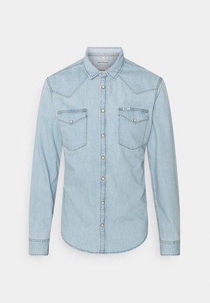 Skjorta - denim light blue