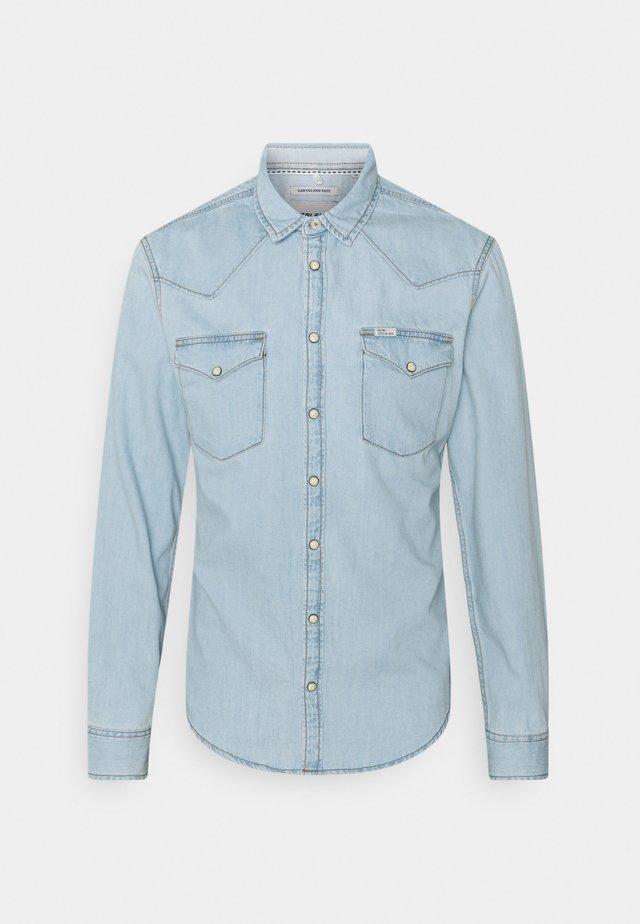 Overhemd - denim light blue